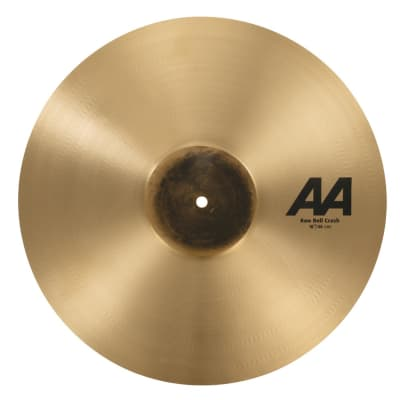 Sabian AA Raw Bell Crash Cymbal 18""