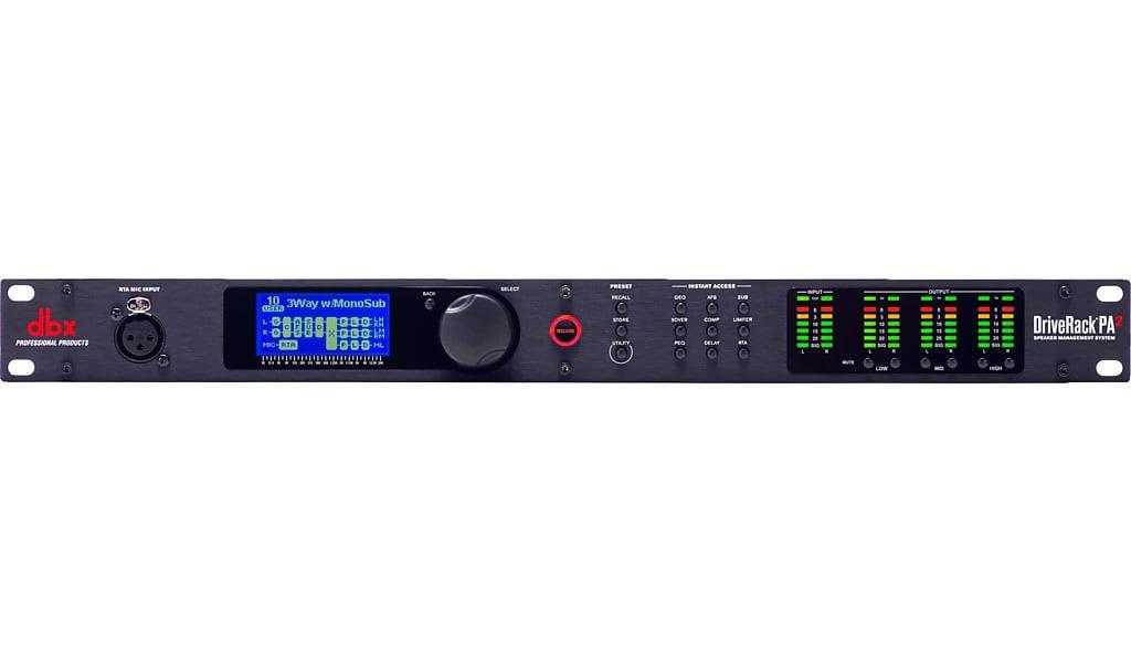 DBX PA2 DriveRack PA2 Rack Mount Loudspeaker Management Processor - Ships  FREE Lower 48 States!
