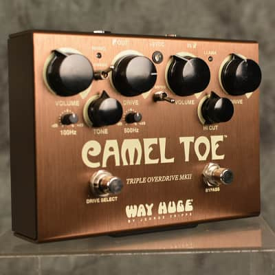 Way Huge Camel Toe Triple Overdrive WHE209 Pedal w FAST Same Day Shipping