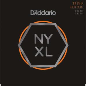 D'Addario NYXL1356W Nickel Wound Electric Guitar Strings, Medium Gauge with Wound 3rd