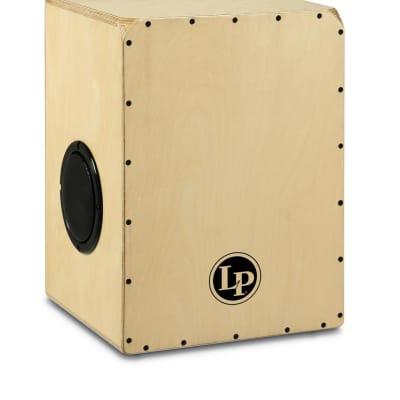 LP Percussion: Bluetooth Mix Natural Cajon with 40 watt Amp - LP1440