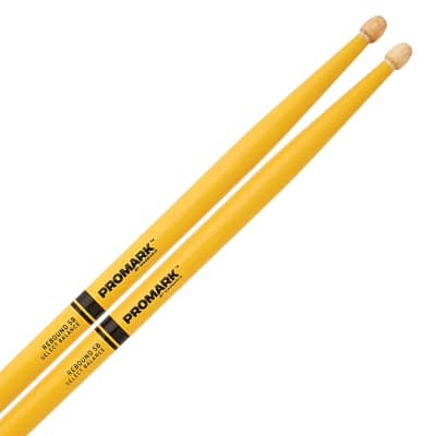 D'Addario #TX5AW -Promark 5A Classic Drumstick, Yellow