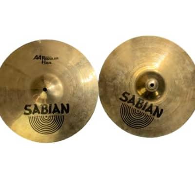 """Sabian AA 14"""" Regular Hats"""