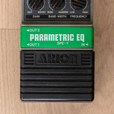 1980s Arion SPE-1 Parametric EQ Vintage Analog Guitar Effects Pedal, Japan for sale