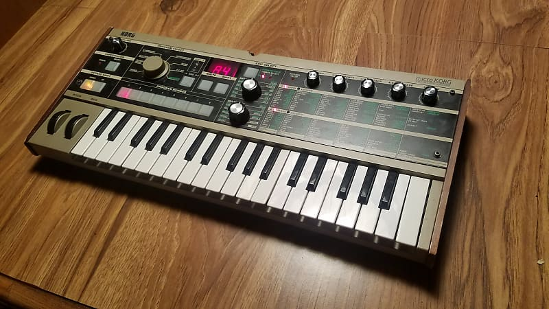 Korg microKorg Synthesizer (Refurbished) | Tim's Gear | Reverb