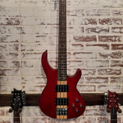 Copley CEB-49NT Electric Bass  Satin Red for sale