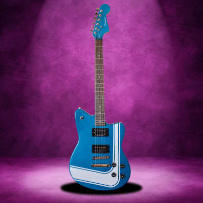 Fender Toronado GT HH Blue Racing Stripe Special Edition Series Guitar for sale