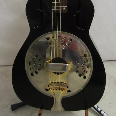 Galveston Metal Body resonator Black & Gold (used)*Play now & Pay Later Offer!* for sale
