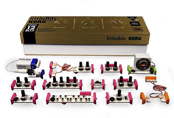 korg little bits build your own synthesizer kit reverb. Black Bedroom Furniture Sets. Home Design Ideas