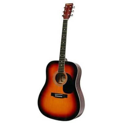 Phoenix 001 Sunburst acoustic western guitar for sale
