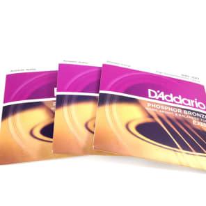 D'Addario EJ38H Acoustic Guitar Strings - Nashville Tuning - 3 Pack