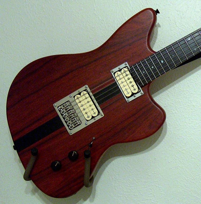 2013 Custom Made Hybrid Jazzmaster style, Satin natural, 2Tek bridge, Blue Bite HB's, Cocobolo/Ebony image