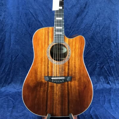 D'Angelico Premier Bowery  Electro Acoustic Natural Koa for sale