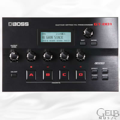 Boss GT-001 Desk Top Guitar Effects Processor - GT-001 for sale