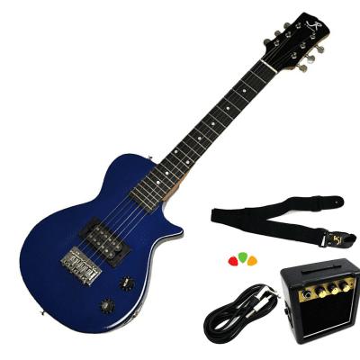 J Reynolds Mini Electric Guitar Prelude Starter Pack - Sparkle Blue - JRPKLPSBL for sale