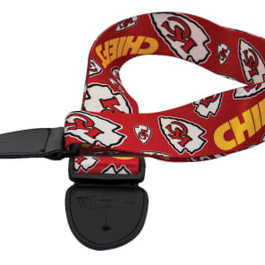 Woodrow Kansas City Chiefs Guitar Strap
