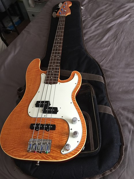 Fender Aerodyne Precision Bass Transparent Yellow