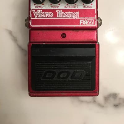 DOD Digitech FX22 V1 Vibro Thang Tremolo / Phaser Rare Guitar Effect Pedal for sale