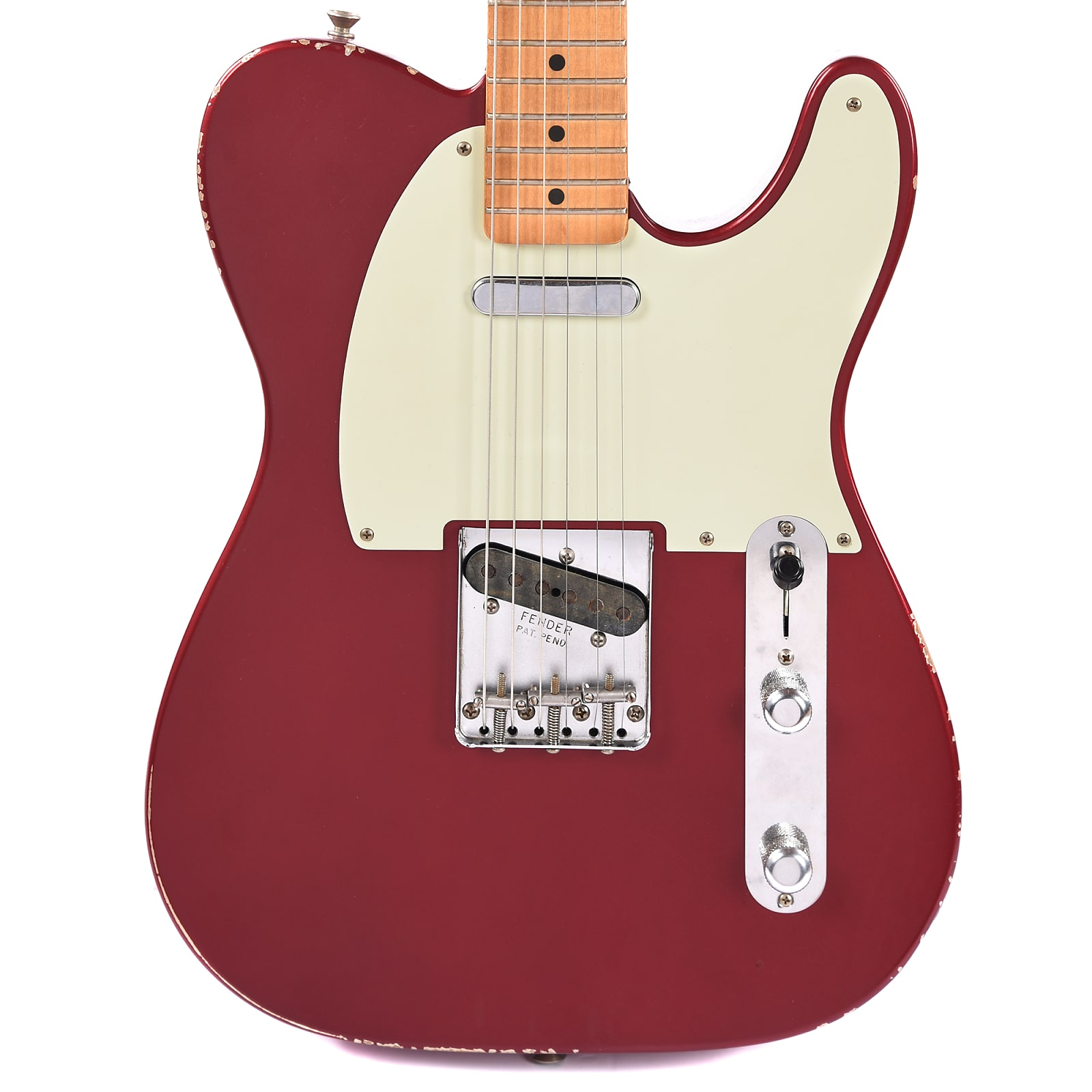 fender road worn 39 50s telecaster candy apple red cme exclusive. Black Bedroom Furniture Sets. Home Design Ideas