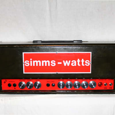 Simms Watts Ap100 MkII 1972 for sale