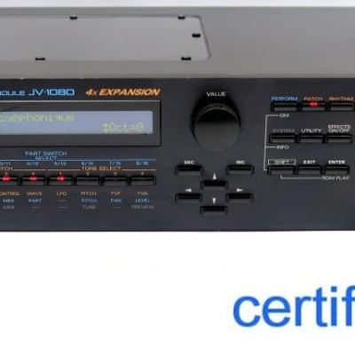 Roland JV-1080 2 HE Rack JV Module JV1080 Soundmodul + Wie NEU + GARANTIE
