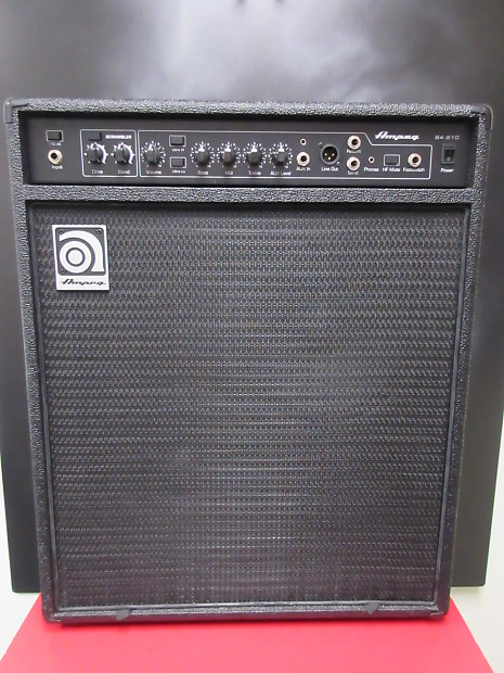 ampeg ba210 reverb. Black Bedroom Furniture Sets. Home Design Ideas