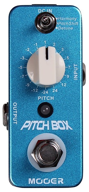 mooer pitch box true bypass effect harmony guitar pedal reverb. Black Bedroom Furniture Sets. Home Design Ideas