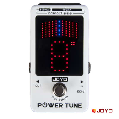 Joyo JF-18R Tuner and Power Supply all in one Guitar Effect Pedal Ships Free to USA for sale