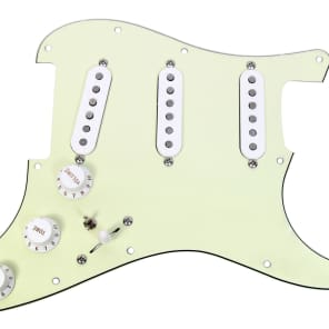 920D Custom Shop 15-35-10 Fender Custom Shop Texas Special Loaded Strat Pickguard w/ 7-Way Switching