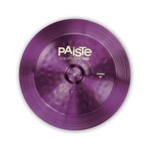 """Paiste 16"""" Color Sound 900 Series China Cymbal"""
