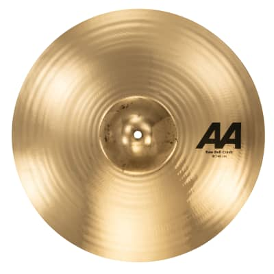 "Sabian 18"" AA Raw Bell Crash 2020 Brilliant"