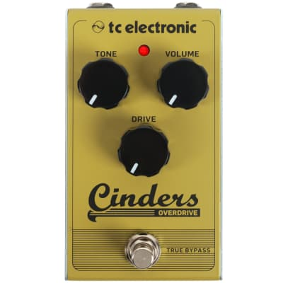 TC Electronic Cinders Overdrive effects pedal for sale