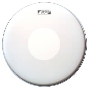 "Aquarian TCPD13-U 13"" Texture Coated Snare Drum Head w/ Dot"