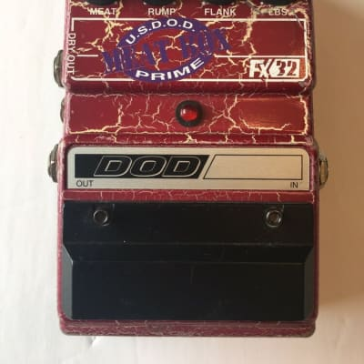 DOD Digitech FX32 Meatbox Bass Sub-Synth Octave Rare Vintage Guitar Effect Pedal for sale