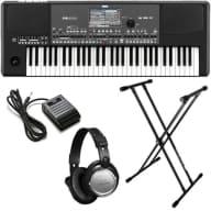 Korg Pa600QT Quarter Tone Professional Arranger Keyboard BONUS PAK