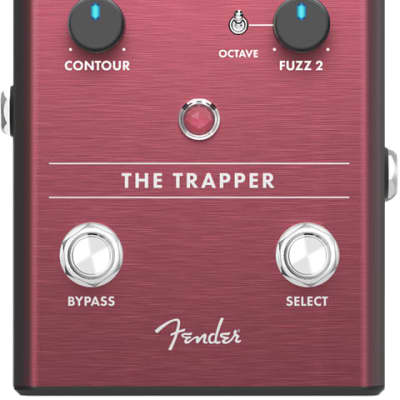 Fender The Trapper Dual Fuzz Guitar Effect Pedal