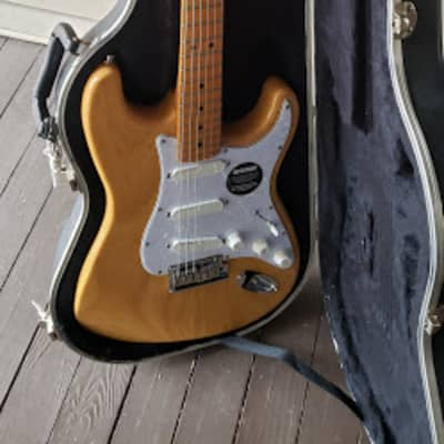 Fender 1992-3 Fender Stratocaster Plus Deluxe 50th Anniversary Custom 1992-3 Natural for sale