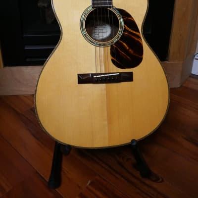 John Kinnaird OM #48 2005 Sitka Spruce Top Madagascar Rosewood Sides for sale