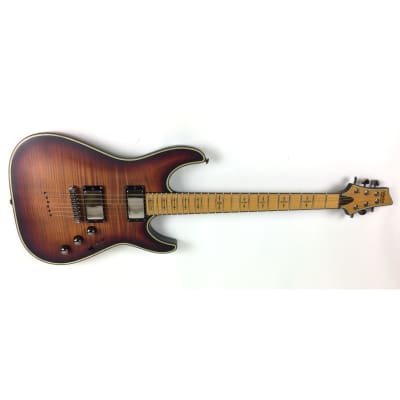 Schecter Hellraiser Extreme C-1 M Maple 3TSB 3 Tone Sunburst B-Stock Electric GuitarC1 for sale