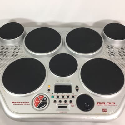 Yamaha DD-55c Digital Percussion 7-Pad MIDI Electronic Percussion Kit