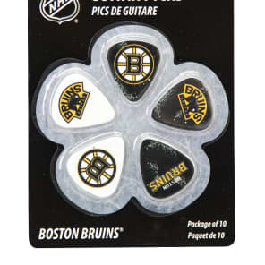 Woodrow Boston Bruins Guitar Picks (10)