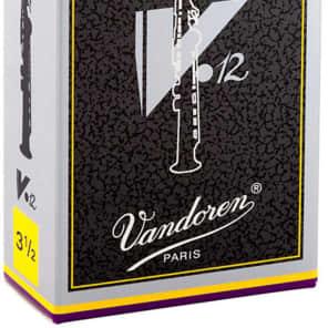 Vandoren SR6035 V12 Series Soprano Saxophone Reeds - Strength 3.5 (Box of 10)