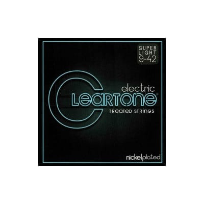 Cleartone Nickel Plated Super Light Electric Strings 09-42