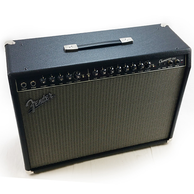 fender champion 100 2x12 100 watt guitar combo amp reverb. Black Bedroom Furniture Sets. Home Design Ideas