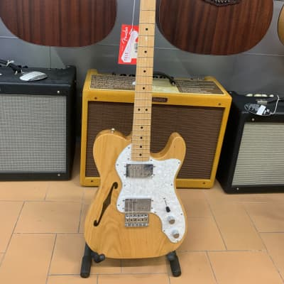 Fender Classic Series Thinline Telecaster '72 HH 2016 Natural for sale