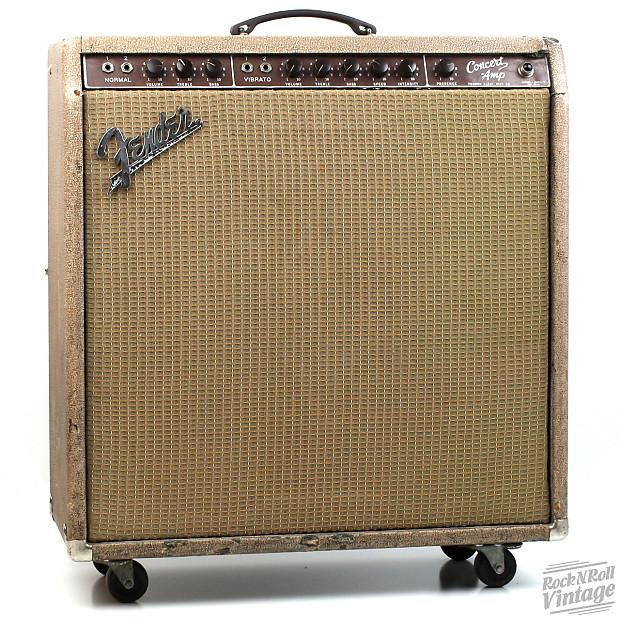 1960 Fender Brown Concert Amp