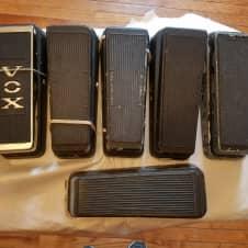 Lot of 6 Dunlop Cry Baby, Vox  GCB-95, V 847,  Thomas Organ 95-91051 Wah Wah Pedals For Repair/Parts