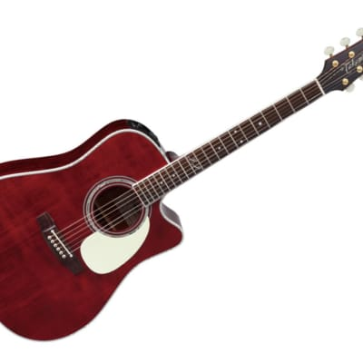 Takamine John Jorgenson Model Dreadnought Cutaway Acoustic Guitar w/case - JJ325SRC for sale