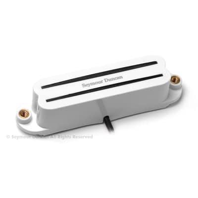 SEYMOUR DUNCAN SHR-1 Hot Rails High-output Bridge Humbucker Single-coil Strat White