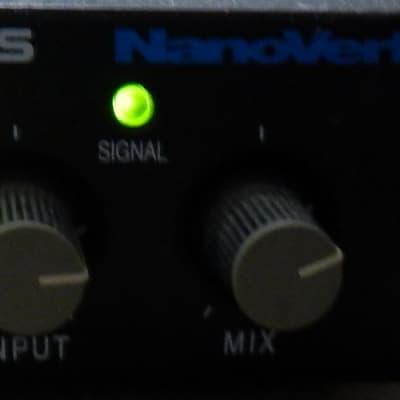 Alesis Nanoverb 18-Bit Digital Effects Processor with original ac adapter